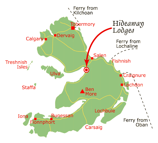 Map of Mull